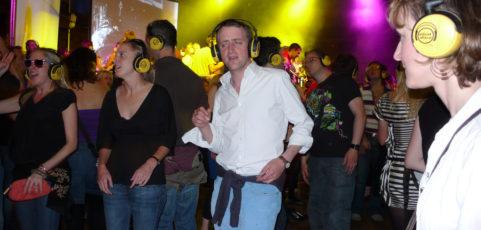 Le Silent Disco : à vos casques, de la bonne musique et dansez !