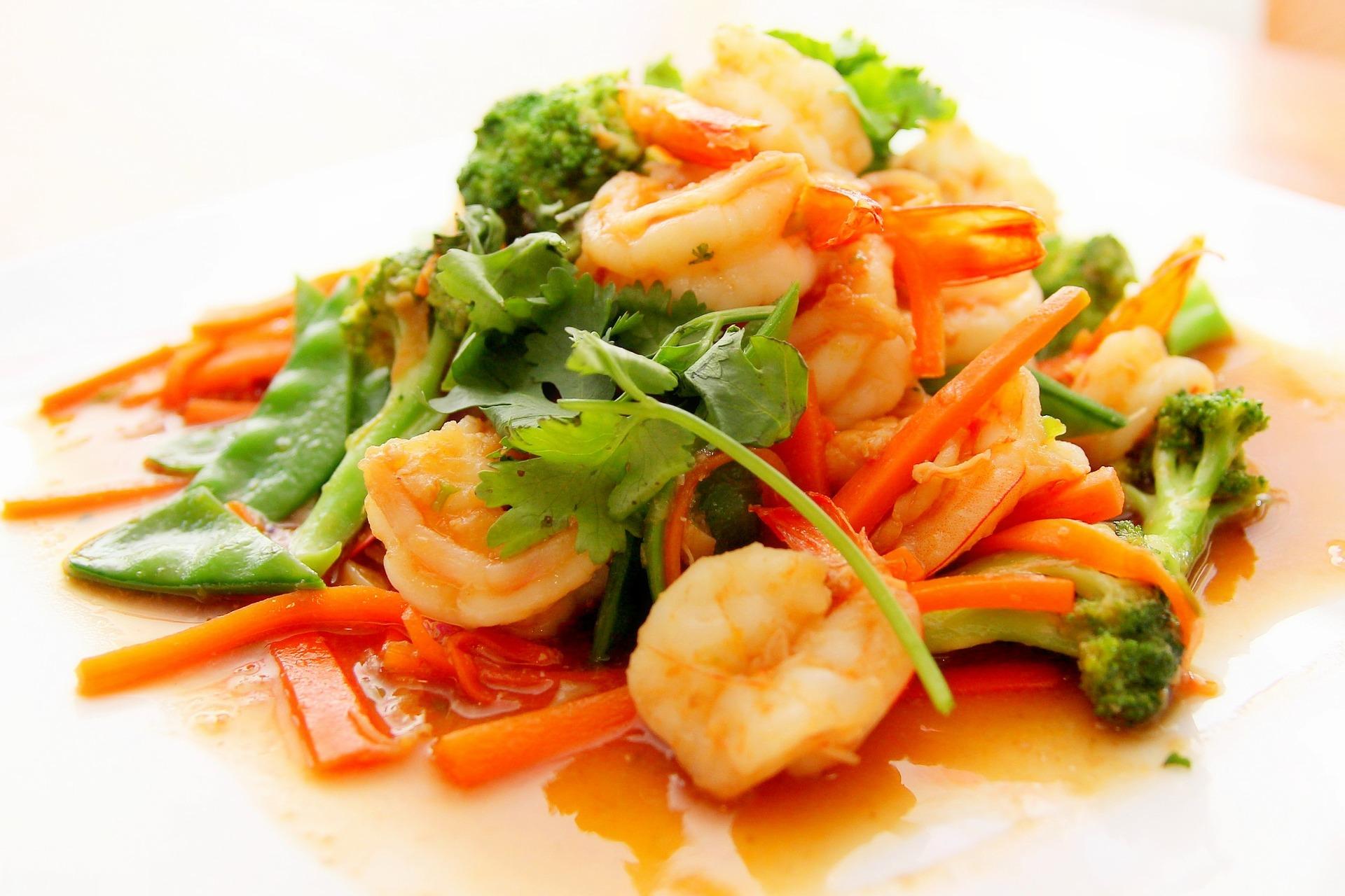 Comment cuisiner les  crevettes surgelées avec brio?